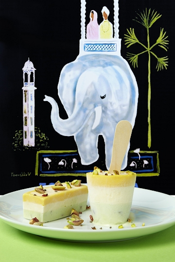 Indian Wedding Kulfi Ice Cream