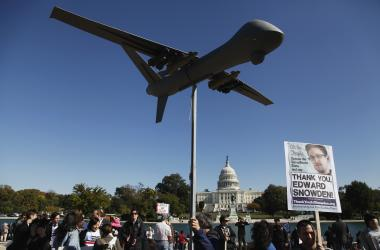 Thousands Attend Anti-NSA Rally In Washington D.C.