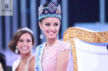 Miss Philippines Megan Young The New Reigning Miss World