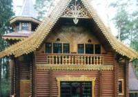 Dom Drewniany styl Bajka