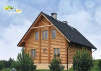 Dom Drewniany styl Klasyczny