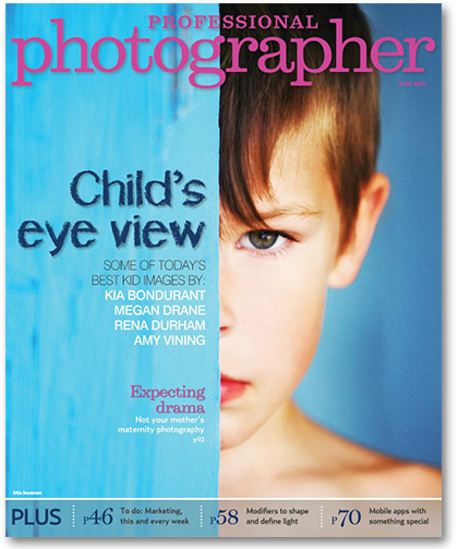 Professional Photographer Magazine June 2013