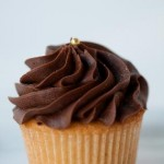 Vanilla with Chocolate Cupcake/Delish Bakery(Austin, TX)