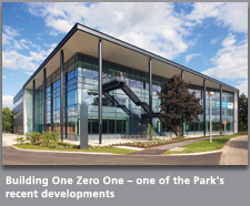 Building One Zero One – one of the Park's recent developments