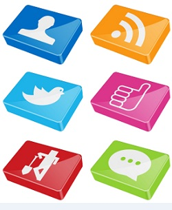 Business Social Networking Buttons
