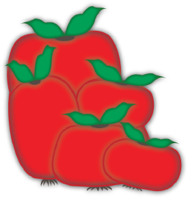 Tomatoes cut file