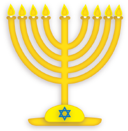 Menorah cut file