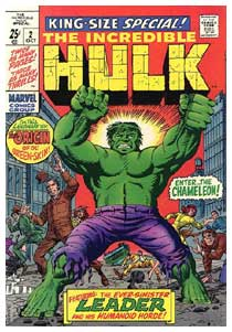 The Incredible Hulk, by Herb Trimpe