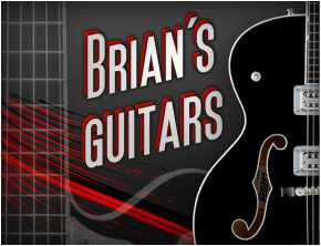 Click here for images of some of the guitars Brian has played!