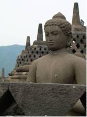 Budha Statue Borobudur Temple