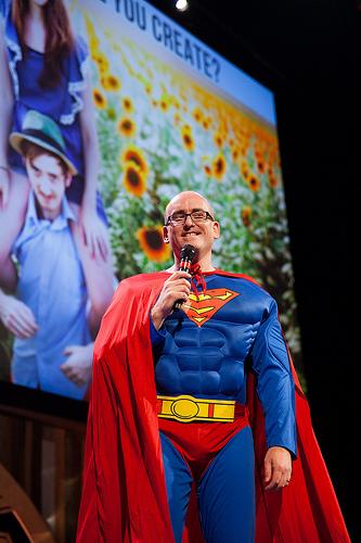 Darren Rowse as Superman
