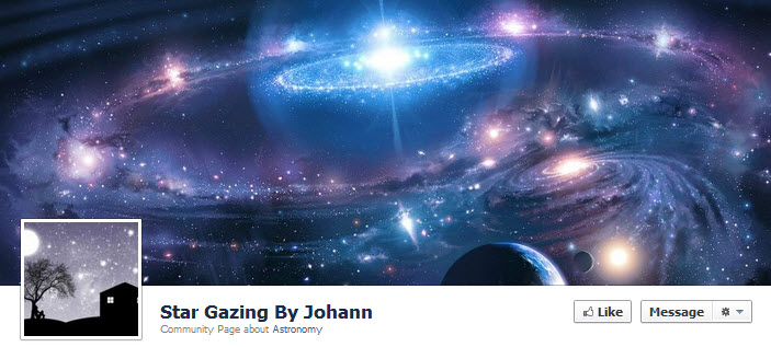 Facebook Star Gazing