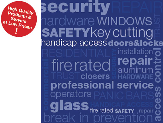 security reapair hardware windows services locksmith