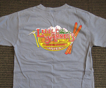 Little Annies T-Shirt Back