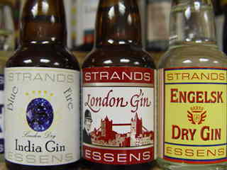 Esencje do alkoholi GIN: Blue India, London Gin i Engelsk Gin