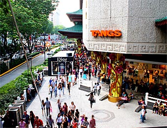 Shop Sinagpore at Tangs Department Store and Hotel Orchard Road