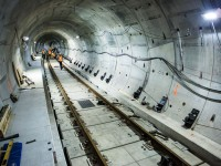A Look Inside Toronto's Newest Subway Tunnels