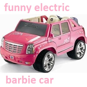 Electric barbie car