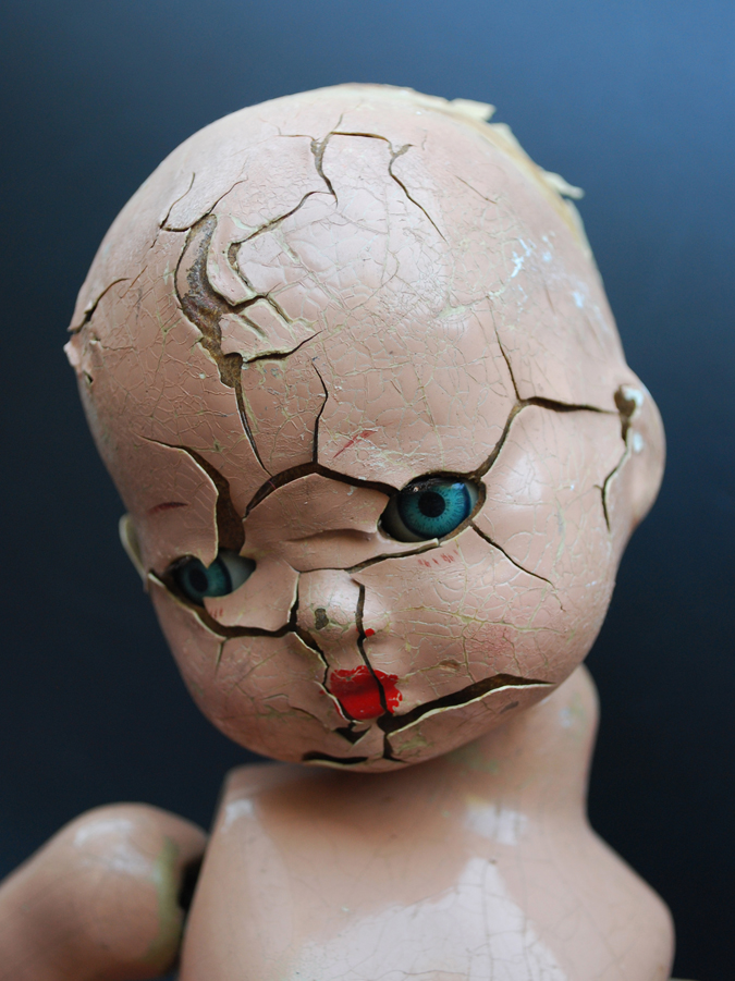 'Untitled no.1' Found and altered doll
