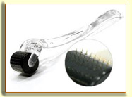 Microneedle skin roller Ways To Get Rid Of Stretch Marks At Home Fast