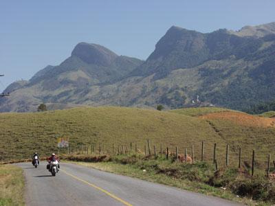 Riding in Brazil