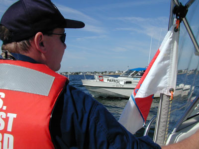 Coast Guard Auxiliary Patrol