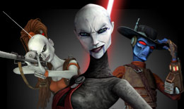 Classic episodes of The Clone Wars