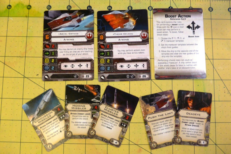 A-Wing Expansion for X-Wing Contents
