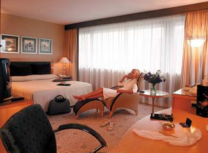 Luxurious Business Room at Hilton Budapest WestEnd Hotel