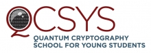 Logo for Quantum Cryptography School for Young Students (CSYS)