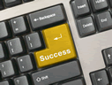 Keyboard with Success Key