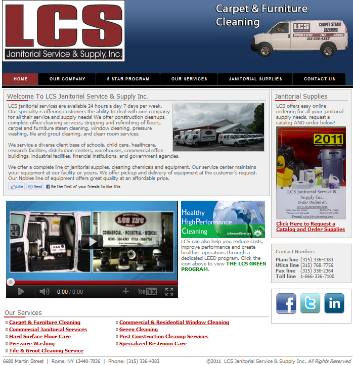 Portfolio Picture -LCS Janitorial Service & Supply Inc.