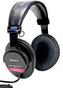 Sony MDR-V6 dj headphones