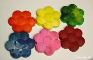 Turning Broken Crayons into New Shapes