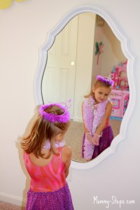 Trash to Treasure: Mirror Makeover