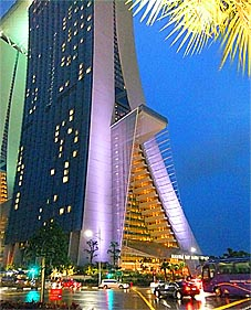 Marina Bay Sands with Singapore casino
