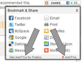 AddThiss Toolbar and the Offending Links