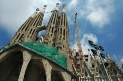 Sagrada Familia, perennially under construction