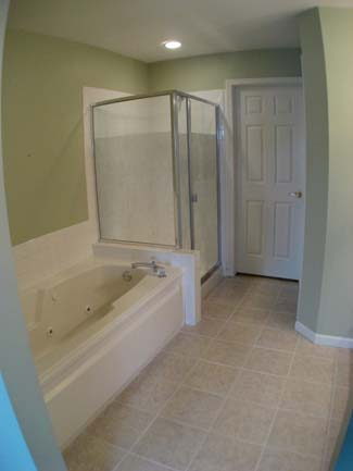 bathtub and show replacement before