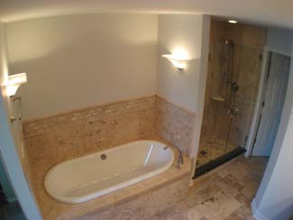 bathtub and show replacement after