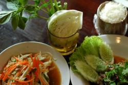 Isaan food at Som Tam Bangkok