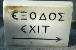 Exodus to the exit