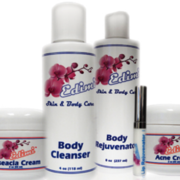 Edimi pH balancers for face and body