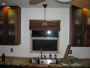 Before Green Back Splash
