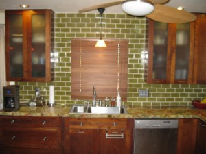 Green Remodeling with Green Tile!