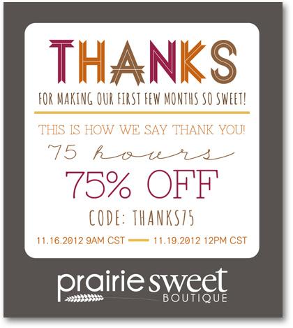 Prairie Sweet Boutique sale
