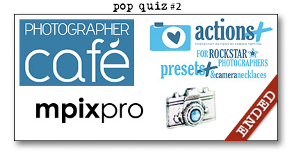 Paperie Boutique Birthday pop quiz two