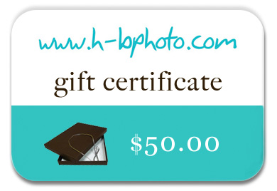 HB Photo Packaging gift card