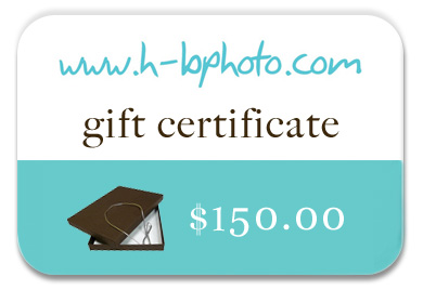 HB Photo Packaging Gift Card prize contest