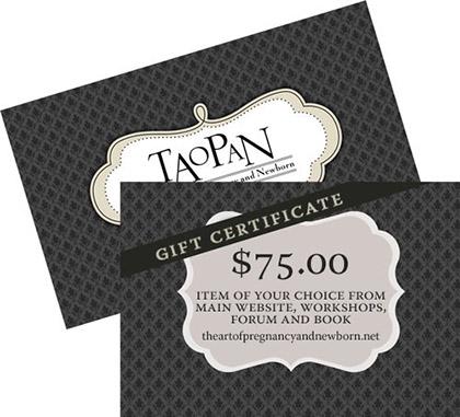 TAoPaN gift certificate